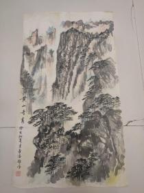 潘季华国画作品一幅