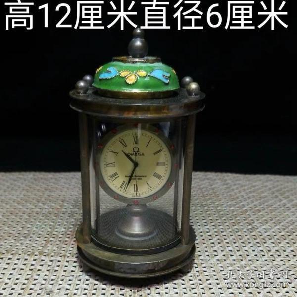 珐琅彩机械钟表