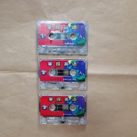 磁带:掌握英语   ( 3盘 ,裸带,无外盒)