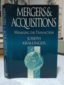 1997年,英文原版,精装带书衣,孔网唯一,收购和并购,mergers & acquistions