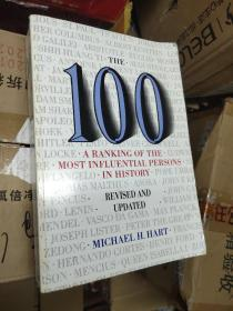 The 100: A Ranking of the Most Influential Persons in History, Revised and Updated Edition 影响人类历史进程的100名人排行榜 修订版【英文版,大16开本】超1公斤重