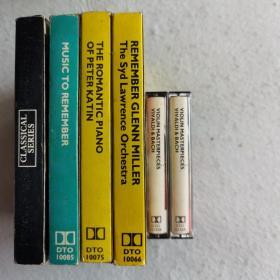 英国德国原版磁带10盒