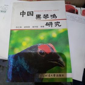 中国黑琴鸡研究