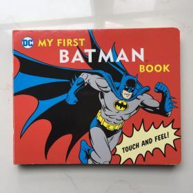 现货 英文原版 DC超*英雄 抽拉书 蝙蝠侠 MY FIRST BATMAN 英文儿童抽拉纸板书