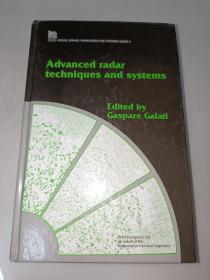 Advanced radar techniques and systems  先进雷达技术和系统  精装