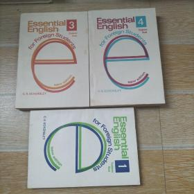 Essential English(for foreign students)1.3.4 (基础英语 学生用书)