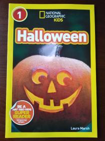 National Geographic Readers: Halloween【正版全新】