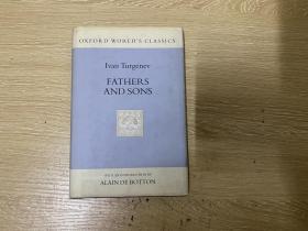 Fathers and Son 屠格涅夫《父与子》,权威 牛津大学版,精装