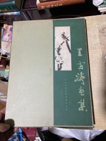王雪涛画集 硬精装+书衣+函套 1985年第一版第2次印刷