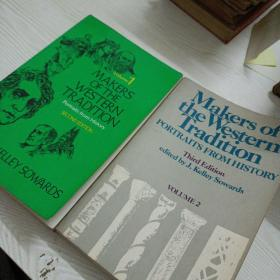 Makers of the Western Tradition: Portraits from History,volume1, 2(两本合售)——a