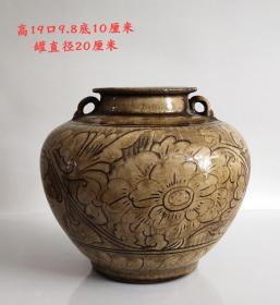 手绘老罐品相完整厚重值得收藏