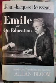 Emile:Or, On Education(爱弥儿:论教育)