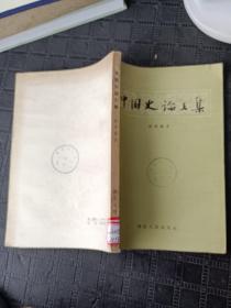 中国史论文集