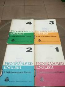 PROGRAMMED ENGLISH:A Self-Instrutional Course(1-4册)程序英语自学教程