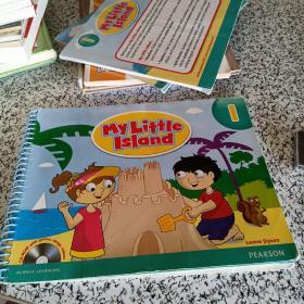 美国原装朗文培生探索岛 my little island 1级别配套教师用书(内有光盘)