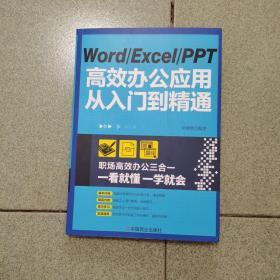 WordExcelPPT高效办公应用从入门到精通