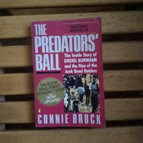 THE PREDATORS' BALL【掠食者的盛宴,康妮·布鲁克,英文原版】