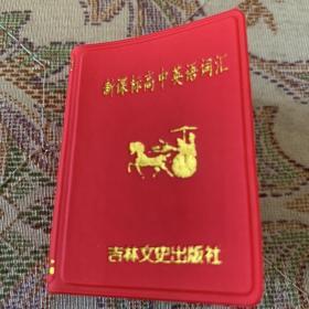 新课标高中英语词汇 256开 口袋书 书小字不小