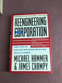 Reengineering the Corporation: A Manifesto for Business Revolution[企业再造:商业革命宣言]