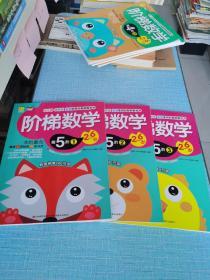 阶梯数学第5阶1、2、3/(2-6岁)全3册 幼儿园学前班家庭使用的智能数学书