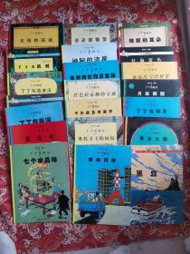 丁丁历险记(21本合售)