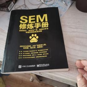 sEM修炼手册,内页干净