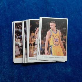 篮球明星名信片(30张 合售)