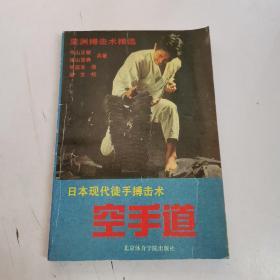 日本现代徒手搏击术 空手道