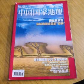 中国国家地理 盐城海潮