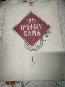 中外抒情小提琴名曲精选第一册