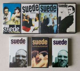 suede 山羊皮乐队 录影带 镭射光碟LD 日版欧美版