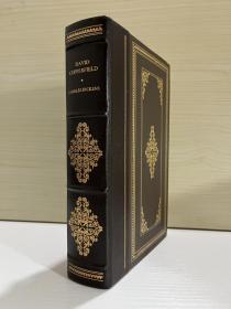 David Copperfield 书脊真皮包裹,布面精装,书口三面刷金