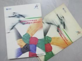 北京申办2008年奥运会中国电信上网纪念卡 (一册四张 )