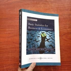 BASIC STATISTICS FOR BUSINESS & ECONOMICS(附光盘)