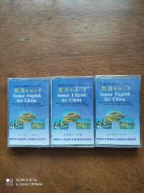 高中英语第一册磁带(3盘)(全新原装未拆封)