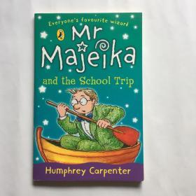 MR Majeika and the School Trip 英文原版儿童章节读物 7岁以上