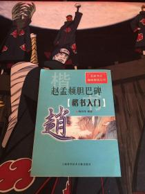 名家书法基础教程丛书·赵孟頫胆巴碑:楷书入门