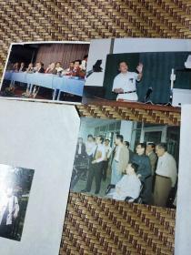 著名物理学家李政道照片及李政道画照片30张尺寸12.7X9cm