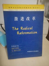 激进改革(影印本)
