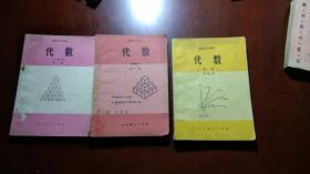 高级中学课本代数甲种本全三册(有笔迹)