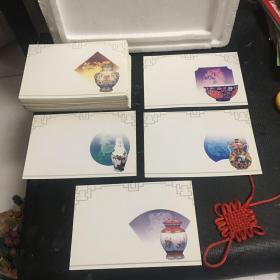 1994年中国邮政贺年有奖明信片获奖纪念(甲戎年)共计115张合售
