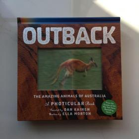 Outback 3D立体绘本陆地 儿童STEAM与百科动物科普绘本 精装 7-12岁