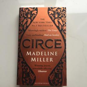 Circe 英文原版 喀耳刻(小说) Madeline Miller