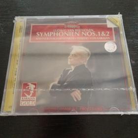 光盘 贝多芬第一,二交响乐