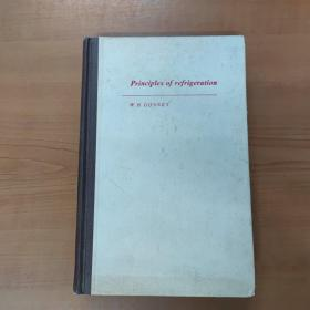 Principles of refrigeration 制冷原理 (英文版精装)