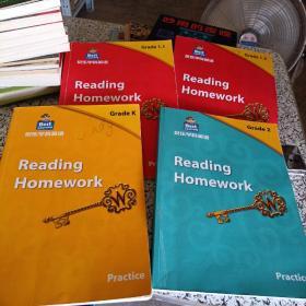 贝乐学科英语-grade K (PRACTICE)四册见图