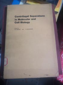 分子生物学和细胞生物学中的离心分离(英文版)