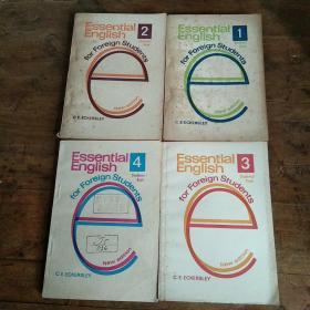 Essential English for Foreign Students Book (学生用基础英语四册).