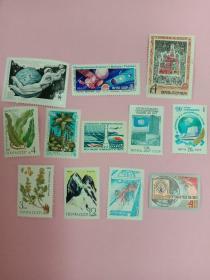 苏联邮票散票12枚