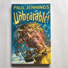 Unbearable!  英文原版儿童章节读物